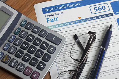 credit report calculator